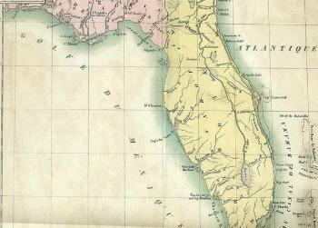 Carey Lea Map 1822