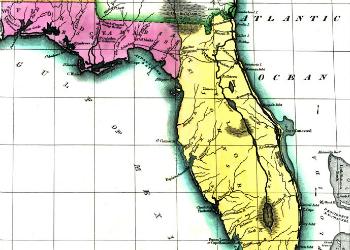 Carey Lea & Lucus Map 1822