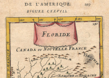 French Map 1683