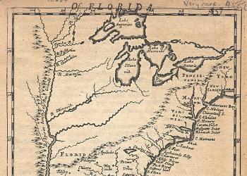 Morden Map 1688