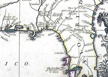 John Senex Map 1719