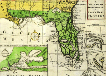 Gibson Map 1763