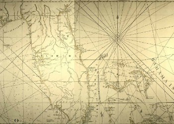 East & West Florida Map 1769