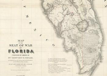 McKay & Blake's Map 1838