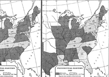Fox's Presidential Election Results Map 1848