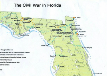 Civil War Map 1863