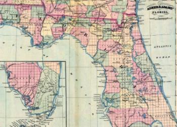 Asher & Adams Map 1871