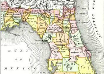 Poor's Manual of Railroads Map 1883