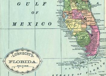 Lubrecht Map 1885