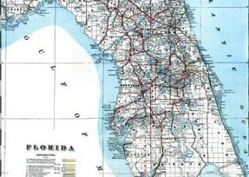 Bradley Map 1889
