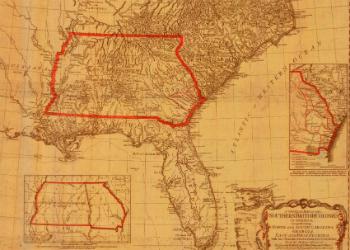 Florida Map 1776